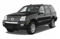 2009 Mercury Mountaineer RWD 4-door V6 Premier Angular Front Exterior View