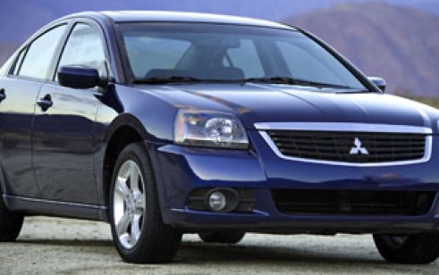 2009 mitsubishi galant vs chevrolet malibu, honda accord sedan