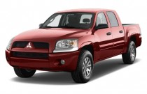 2009 Mitsubishi Raider 2WD Double Cab Auto LS Angular Front Exterior View
