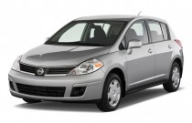 2009 Nissan Versa 5dr HB Auto S Angular Front Exterior View