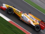 2009 Renault Formula One race car