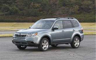 Subaru Forester Unanimously Voted Motor Trend SUV of the Year