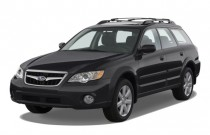 2009 Subaru Outback 4-door H4 Auto Ltd Angular Front Exterior View