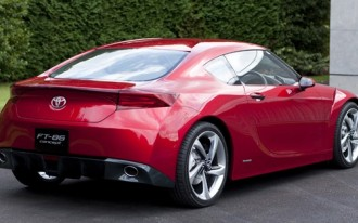 2009 Tokyo Show: Is the Toyota FT-86 Concept a New Celica?