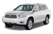 2009 Toyota Highlander Hybrid 4WD 4-door Limited w/3rd Row (Natl) Angular Front Exterior View