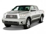 2009 Toyota Tundra CrewMax 5.7L V8 6-Spd AT LTD (Natl) Angular Front Exterior View