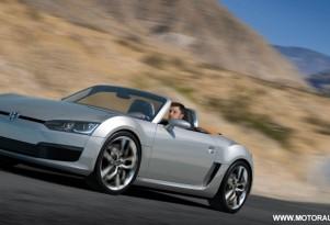 2009 volkswagen bluesport roadster concept 009