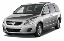 2009 Volkswagen Routan 4-door Wagon SE Angular Front Exterior View