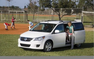 2009 Volkswagen Routan Recalled For Airbag Problem (Not The One You Think)