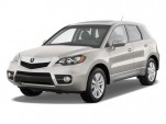 2010 Acura RDX AWD 4-door Tech Pkg Angular Front Exterior View