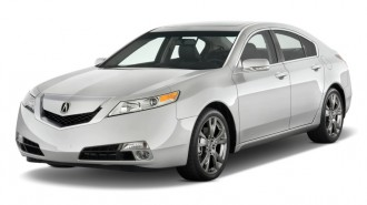 2010 Acura TL 4-door Sedan Man SH-AWD Tech HPT Angular Front Exterior View