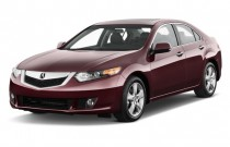 2010 Acura TSX 4-door Sedan I4 Auto Angular Front Exterior View