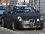 2010 Alfa Romeo Milano spy shots