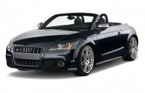 2010 Audi TTS 2-door Roadster S tronic 2.0T quattro Prestige Angular Front Exterior View