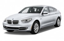 2010 BMW 5-Series Gran Turismo 4-door Sedan 550i RWD Angular Front Exterior View