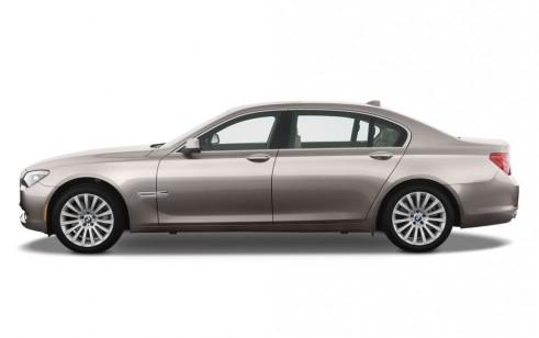 2010 BMW 7-Series 4-door Sedan 750Li RWD Side Exterior View