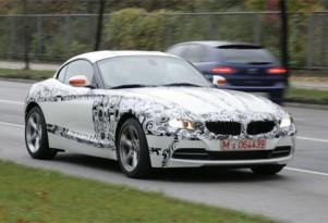2010 BMW Z4 spy shots