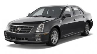 2010 Cadillac STS 4-door Sedan V6 RWD w/1SA Angular Front Exterior View