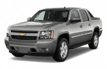"2010 Chevrolet Avalanche 2WD Crew Cab 130"" LT Angular Front Exterior View"