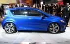2010 Detroit Auto Show: 2011 Chevrolet Aveo RS Concept Live Gallery