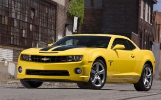 Chevrolet Unveils 2010 Camaro Transformers Special Edition