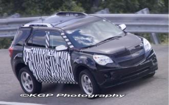 2010 Chevrolet Equinox Spied!
