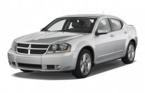 2010 Dodge Avenger 4-door Sedan R/T Angular Front Exterior View