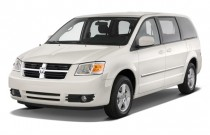 2010 Dodge Grand Caravan 4-door Wagon SXT Angular Front Exterior View