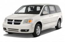 2010 Dodge Grand Caravan 4-door Wagon SXT Angular Front Exterior View
