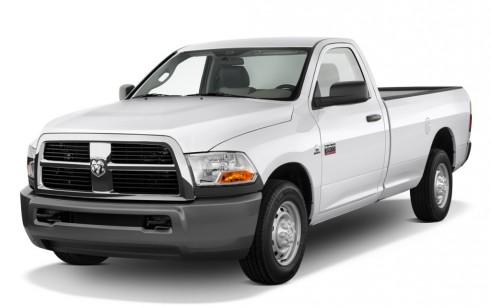 "2010 Dodge Ram 2500 2WD Reg Cab 140.5"" ST Angular Front Exterior View"