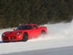2010 Dodge Viper stability control testing platform for next-gen model