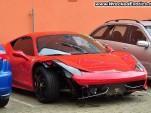 2010 Ferrari 458 Italia crash