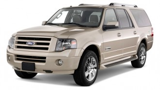 2010 Ford Expedition EL 2WD 4-door Limited Angular Front Exterior View