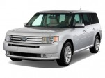 2010 Ford Flex 4-door SEL FWD Angular Front Exterior View