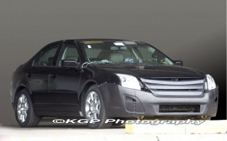 2010 Ford Fusion Spied--New Face and All