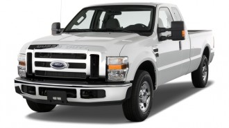 """2010 Ford Super Duty F-250 2WD SuperCab 142"""" XLT Angular Front Exterior View"""