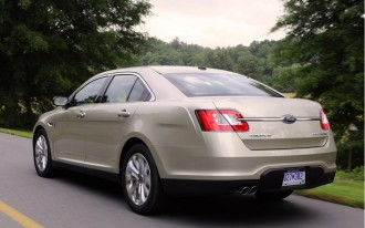 Ford Boasts Improved Resale Value For 2010 Ford Taurus