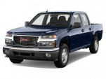 "2010 GMC Canyon 2WD Crew Cab 126.0"" SLE1 Angular Front Exterior View"