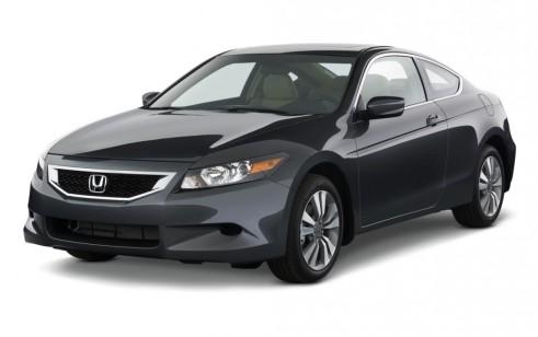 2010 Honda Accord Coupe 2 Door I4 Auto EX L Angular Front Exterior View