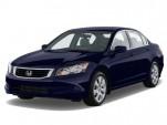 2010 Honda Accord Sedan 4-door I4 Auto EX-L Angular Front Exterior View