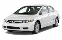 2010 Honda Civic Sedan 4-door Auto GX Angular Front Exterior View
