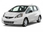 2010 Honda Fit 5dr HB Auto Angular Front Exterior View
