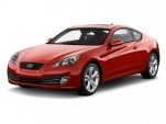 2010 Hyundai Genesis Coupe 2-door 3.8L Man Grand Touring Angular Front Exterior View