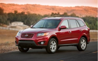 2010 Detroit Auto Show: 2010 Hyundai Santa Fe Gets Two New Engines