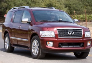 Infiniti prices QX56 SUV for 2010
