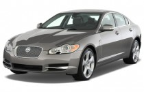 2010 Jaguar XF 4-door Sedan XF Supercharged Angular Front Exterior View
