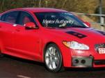 2010 Jaguar XF-R spy shot