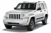2010 Jeep Liberty RWD 4-door Sport Angular Front Exterior View