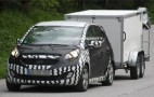 Spy shots: Kia planning new compact MPV based on No 3 concept car