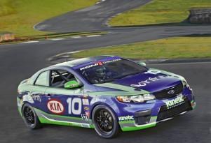 2010 Kia Forte KOUP GRAND-AM KONI Challenge Race Car